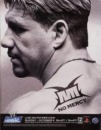 No Mercy (2005) - Promotional poster featuring Eddie Guerrero