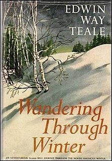<i>Wandering Through Winter</i> book by Edwin Way Teale