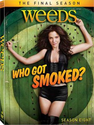 Weeds (season 8) - Image: Weeds S8 DVD