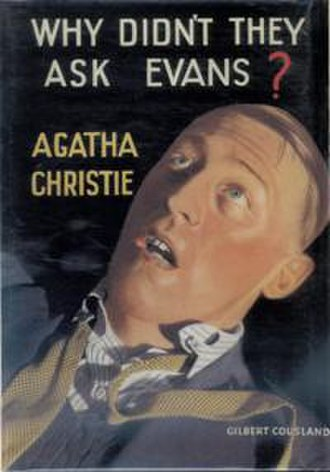 Why Didn't They Ask Evans? - Dust-jacket illustration of the first UK edition