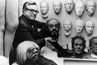 William J. Tuttle - William J. Tuttle with some of his creations for MGM in 1970.