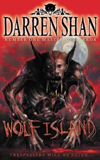 Wolf Island (novel) - Original cover of Wolf Island. Grubbs in Half werewolf-half human form.