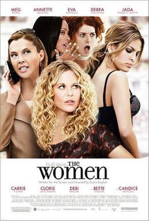 The Women (2008 film) - Theatrical release poster