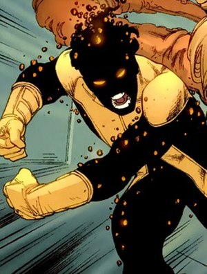 Sunspot (comics) - Image: XMEN Sunspot Powerup