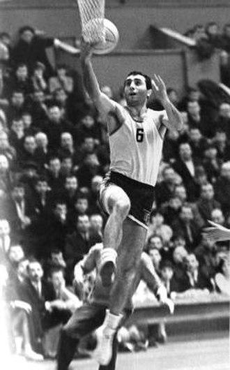 Zurab Sakandelidze - Zurab Sakandelidze during basketball game