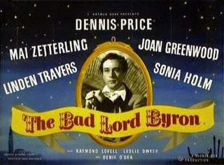 <i>The Bad Lord Byron</i> 1949 film by David MacDonald