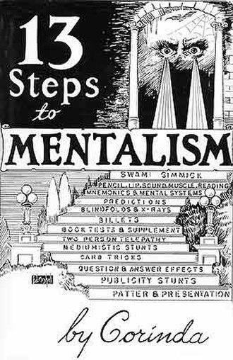 Thirteen Steps To Mentalism - Image: 13 Steps to Mentalism