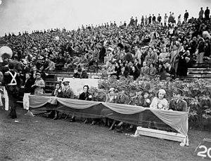 1930 Florida Gators football team - The stands at Florida Field.
