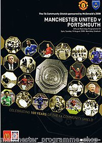 2008 Community Shield programme.jpg