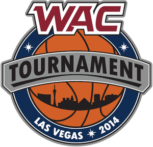 2014 WAC Men's Basketball Tournament - Image: 2014WACBBall