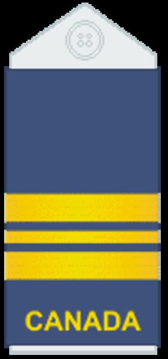 Major (Canada) - Image: Air Force slip on Maj