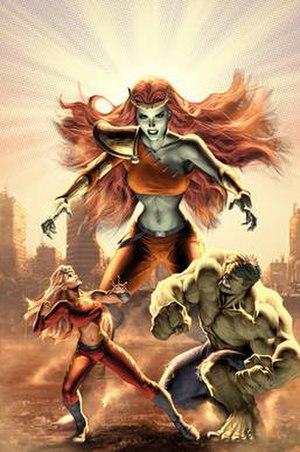 She-Hulk (Lyra) - Image: All New Savage She Hulk