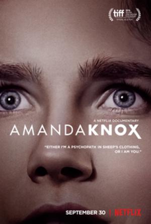 Amanda Knox (film) - Netflix release poster