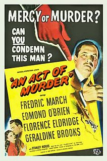 <i>An Act of Murder</i> 1948 film