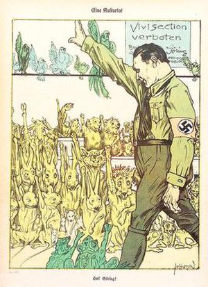 Animal welfare in Nazi Germany - Image: Animal Rights Nazi Germany