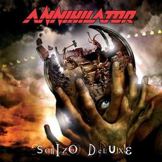 Schizo Deluxe - Image: Annihilator Schizo Deluxe