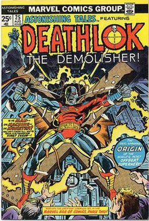 Deathlok - Image: Astonishing Tales 25