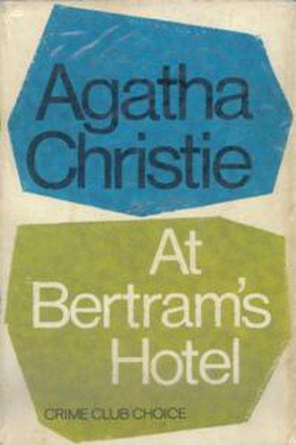 At Bertram's Hotel - Dust-jacket illustration of first UK edition