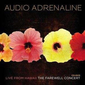 Live from Hawaii: The Farewell Concert - Image: Audioa livehawaii