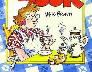 M. K. Brown - Book cover of Aunt Mary's Cook Book.