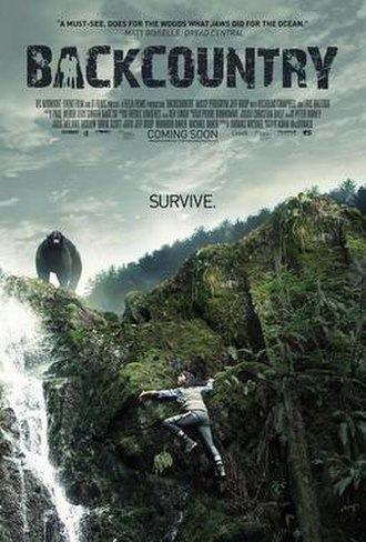 Backcountry (film) - Image: Backcountry Poster