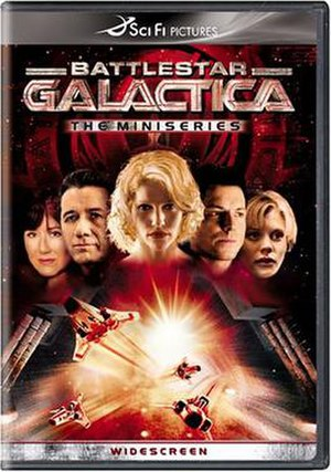 Battlestar Galactica (miniseries) - DVD cover