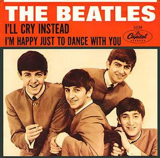 I'm Happy Just to Dance with You - Image: Beatles I'll Cry Instead