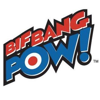 Bif Bang Pow! - Image: Bifbangpowlogo
