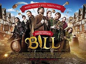 Bill (2015 film) - United Kingdom theatrical release poster