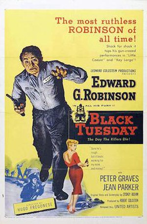 Black Tuesday (film) - Theatrical release poster