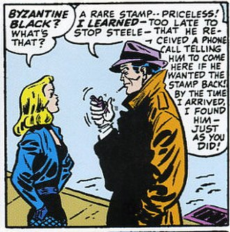 Larry Lance - Lance with Black Canary.  Art by Carmine Infantino.
