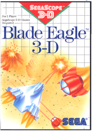 Blade Eagle 3-D - Box art