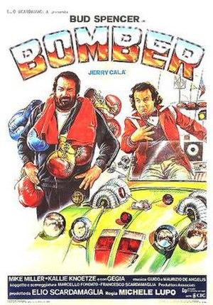 Bomber (1982 film) - Italian theatrical release poster by Renato Casaro