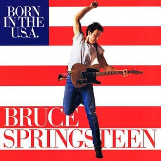 Born in the U.S.A. (song) - Image: Born In The US Asinglecover