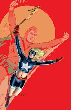 Courtney Whitmore - Image: Cassaday stargirl