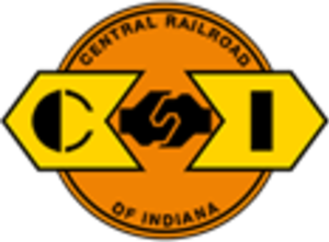Central Railroad of Indiana - Image: Central Railroad of Indiana logo