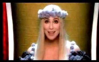 "The Music's No Good Without You - Cher in the music video for ""The Music's No Good Without You""."