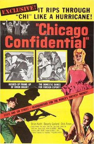 Chicago Confidential - Image: Chicago Confidential film poster