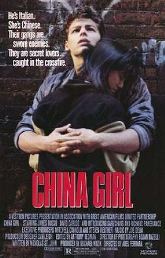 China Girl (1987 film) - Theatrical release poster