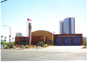 Clark County Fire Department (Nevada) - Fire Station 12