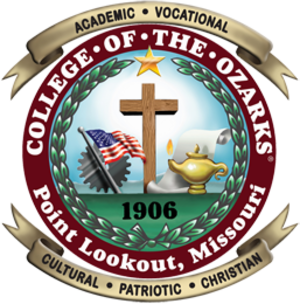 College of the Ozarks - Image: Collegeofozarks seal