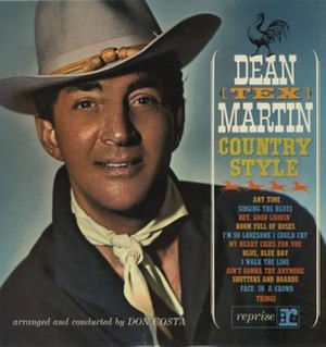 "Dean ""Tex"" Martin: Country Style - Image: Dean Tex Style"