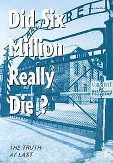 <i>Did Six Million Really Die?</i> book