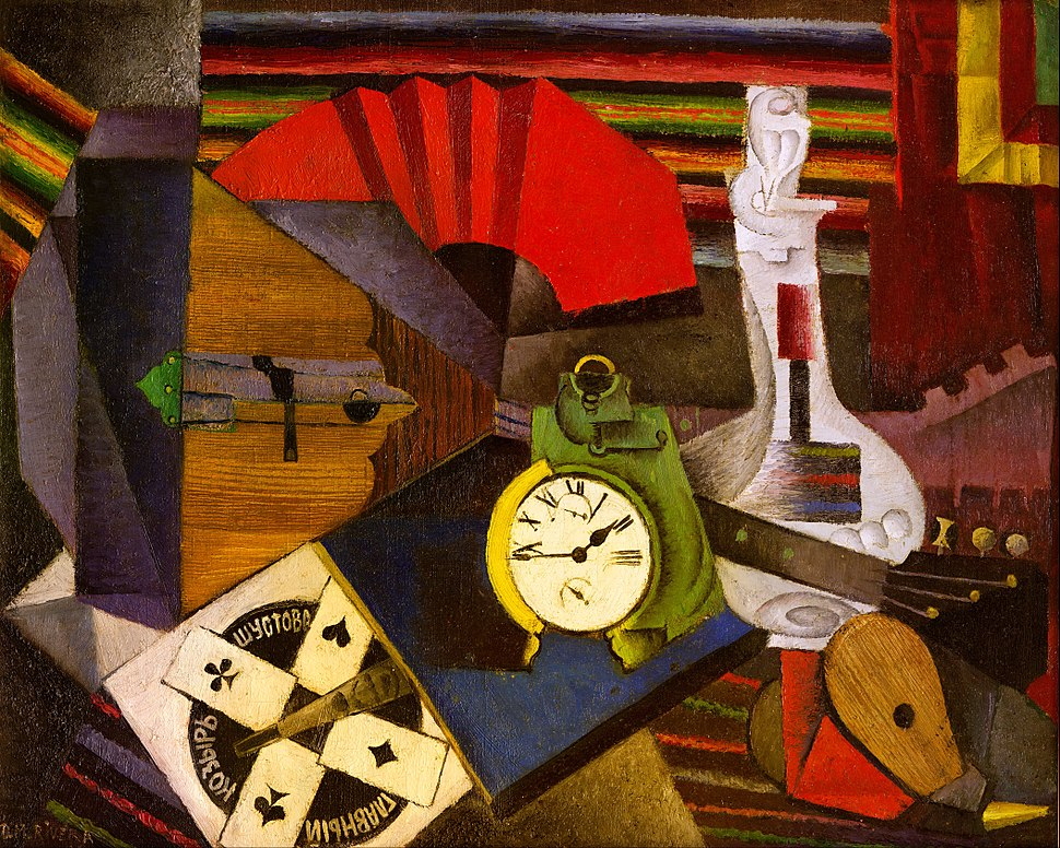 Diego Rivera - The Alarm Clock - Google Art Project