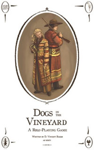 Dogs in the Vineyard - Image: Dogs in the Vineyard cover small