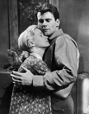 Fred Zinnemann - Don Murray and Eva Marie Saint in A Hatful of Rain (1957)