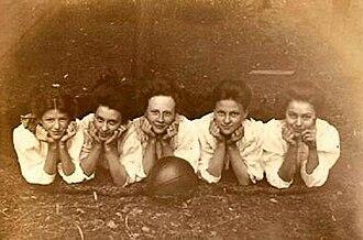 Dundee, Minnesota - Girls Basketball Team, Dundee, Minnesota - early 1900s