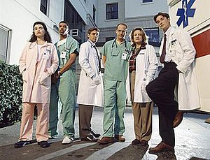 ER (TV series) - Original cast of the show (1994–1995)