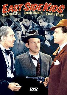<i>East Side Kids</i> (film) 1940 film by Robert F. Hill