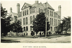 Riverside University High School - The former East Side High School